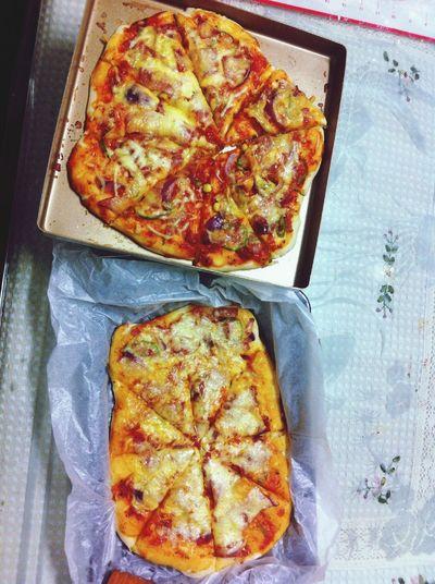 自己做的披萨爱放什么放什么?