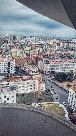 Casablanca stairs Casablanca Casablanca, Morocco CasablancaStreets Day Sky Cloud - Sky Outdoors Full Frame No People Built Structure Architecture Building Exterior City