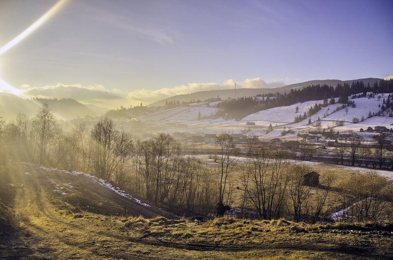 Beauty In Nature Countryside Landscape Mountain Non-urban Scene