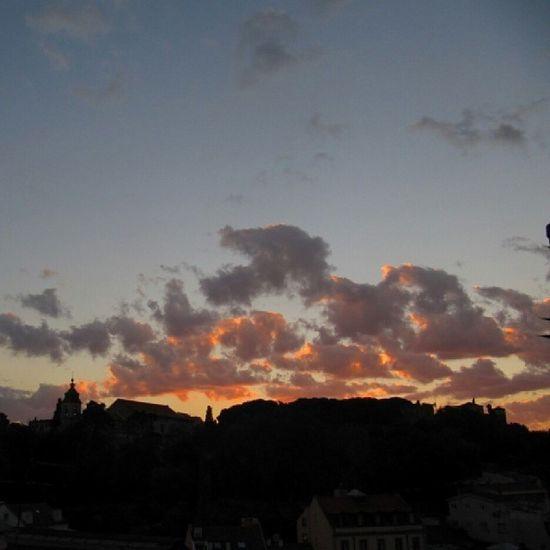 Poesia... Por do Sol em Lisboa...
