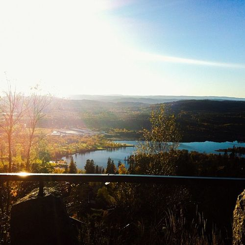 Soria Moria Oslo Oslove View Visitoslo visitnorway norway ilovenorway i_love_norway instamood ic_sky sky lake