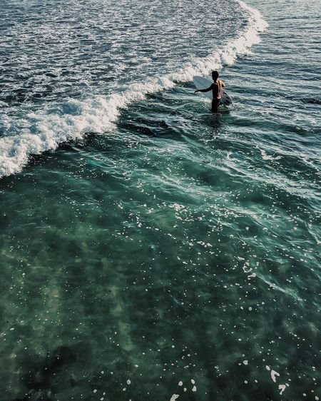 The Wave מייבתגלים ShotOnIphone מייאייפון10 IPhoneX מיימומנט Water Sea Waterfront Real People One Person Leisure Activity Aquatic Sport 17.62° Analogue Sound