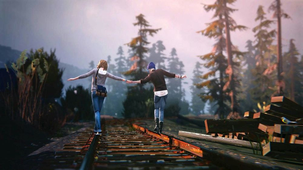 Life Is Strange Lis Chloe Price Max Rebel Rebellious Story Love This Game Soundtrack Too