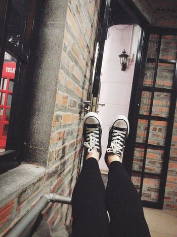 Converse I LOVE SHOES! Coffee ☕ + Matcha Green Tea With My Love ❤