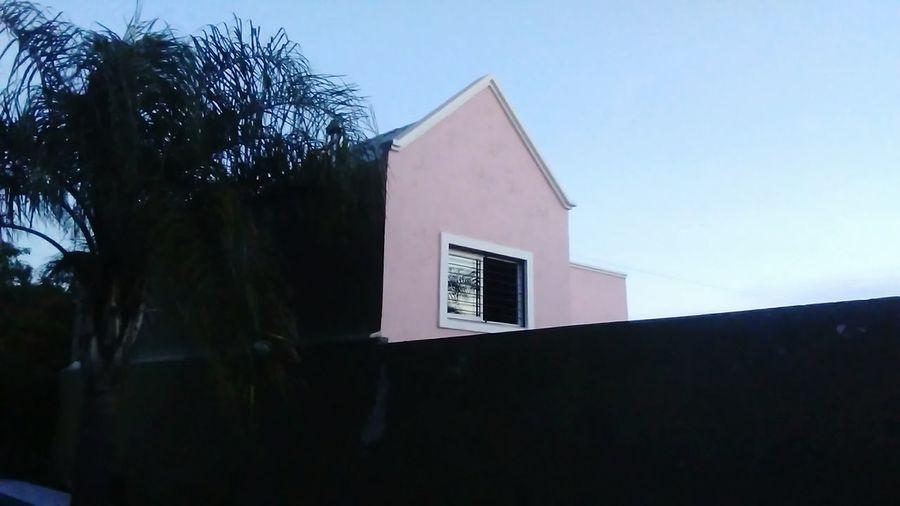 First Eyeem Photo House Mininalist Pink Background