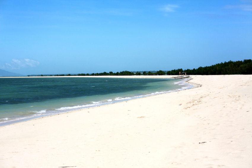 Beach Beauty In Nature Blue Honda Bay Idyllic Palawan Philippines Puerto Princesa Sand Sea Tranquil Scene Tranquility White Beach