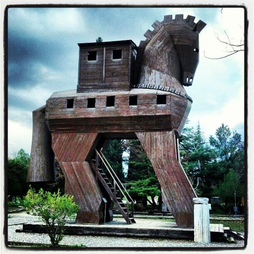 The Trojan horse!