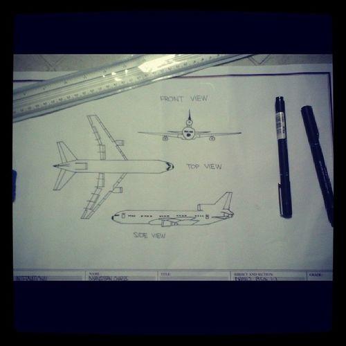 Mag aarchitect nalang ako hahaha Lockheed Drawing Finals