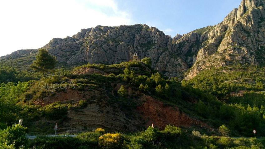 Ermita de la Salut. Mountain Eyem Nature Lovers  Paisaje Natural Paisatges Catalans Nature_collection Landscape_Collection Mountains And Sky No Edit/no Filter Landscape Green