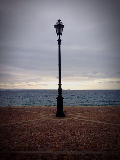Relaxing Trieste Italy Horizon Sea Barcola Aspettandoiltramonto