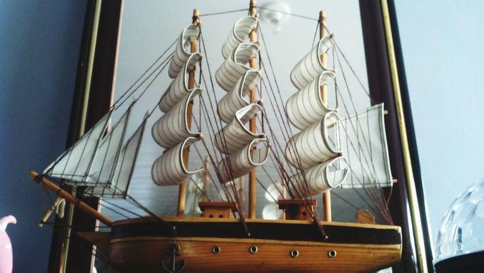 Barcos De Vela Brinquedo Enfeite Barco Mar