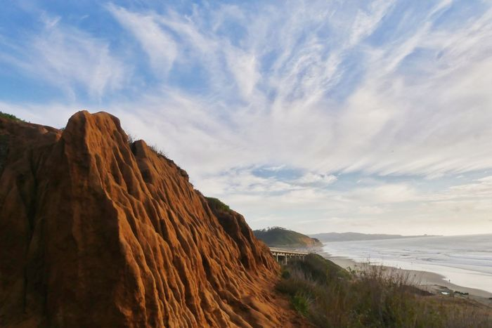 Landscape Rock - Object Nature Vacations Scenics Beauty In Nature Outdoors No People Beach Sky Day