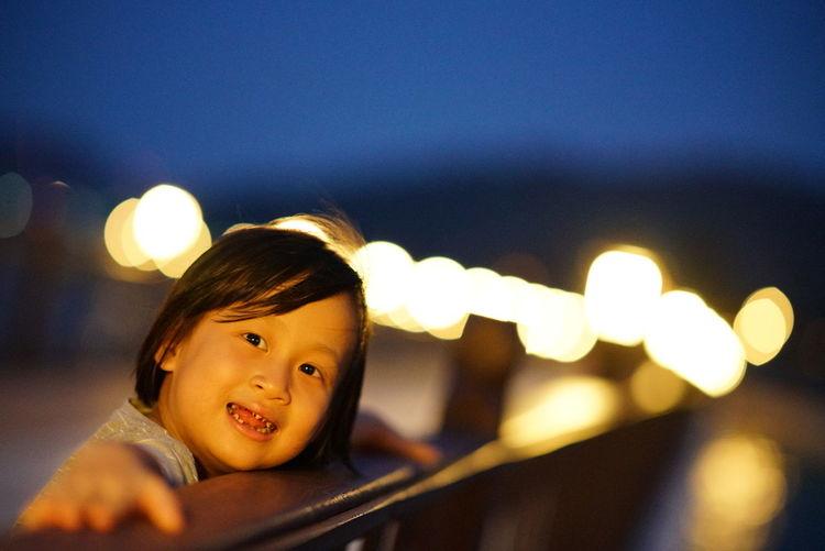 little kid on the wood bridge Pangkor Laut Resort Pangkor Ytlhotels Child