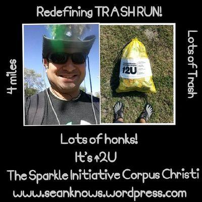 SeanKnows Sparklecc Trash Running literrati ↑2U