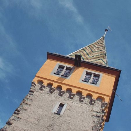 Beautiful Architecture and Design . The Mangturm Tower at the Hafen Port . Lindau Bodensee Deutschland Germany . Taken by my Sonyalpha DSLR Dslt A57 . مرفأ برج بحيرة جزيرة لينداو المانيا