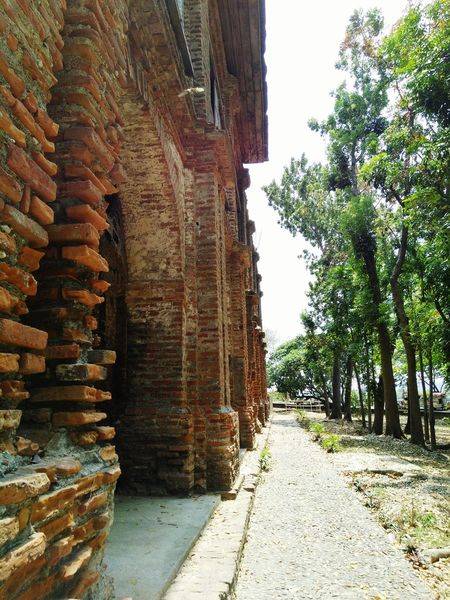 Brickwalls Of Sarrat Stack Day No People Outdoors Architecture Tree Building Exterior