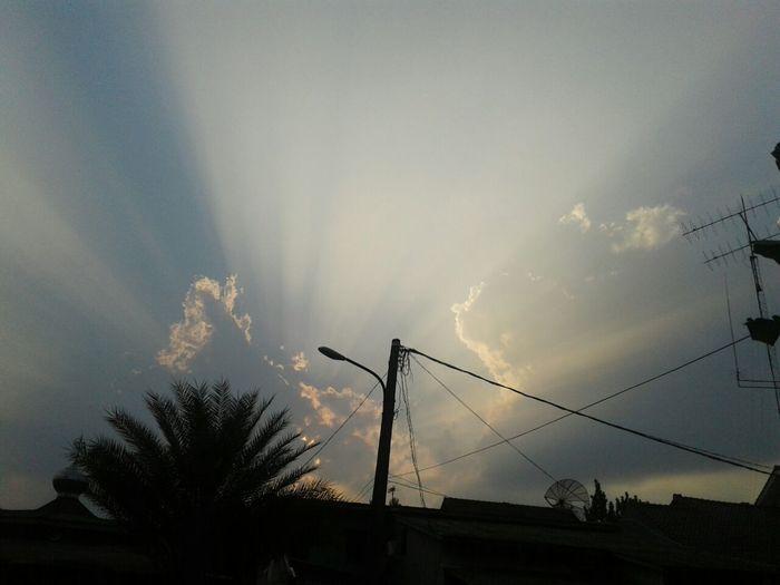 Lovely sky....
