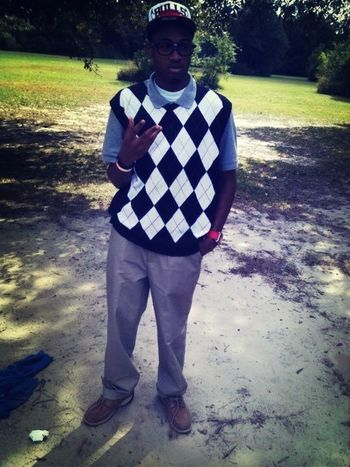 Old picture I had no hair den