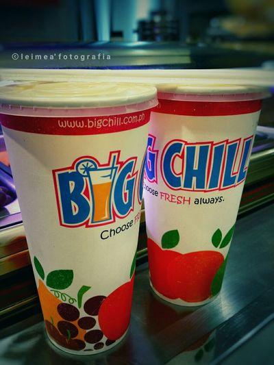 Let's get chill! Bigchill Fruitshake Mangobananashake Lycheebananashake Refreshing Sippin Photography Snapseed Leimeafotografia Eyeem Philippines