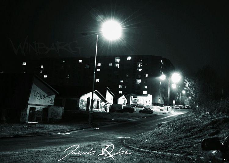 Monochrome Nightphotography Streetphoto_bw Bardejov
