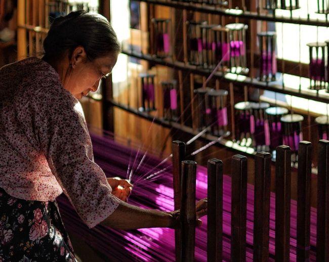 Myanmar textile