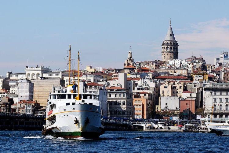 The Galata Tower in Istanbul, Turkey Turkey Galatatower