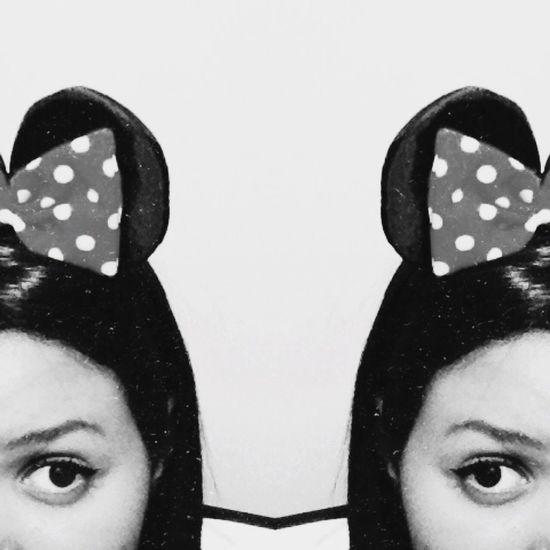 Gostei assim tbm😄😅 Disney Minnie Mouse Picture Blackandwhite