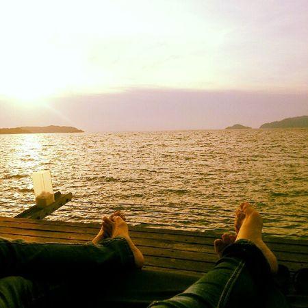 Sunset bar ♥ Sunsetbar Relax Sea View island chills