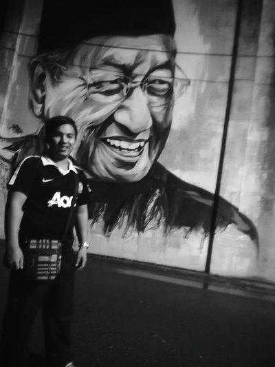 Shades Of Grey Tun Mahathir Street Art