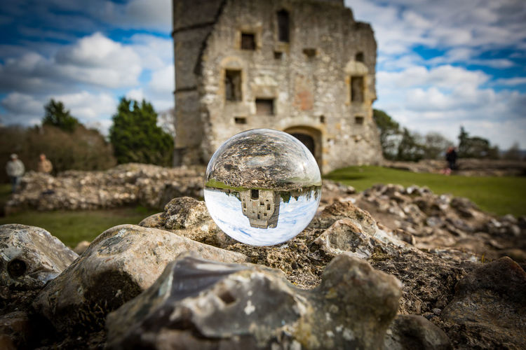 EyeEmNewHere Berkshire Castle Donnington Castle Newbury Uk Ruins Landscape Lensball Ruin Ruins Architecture Sky EyeEmNewHere
