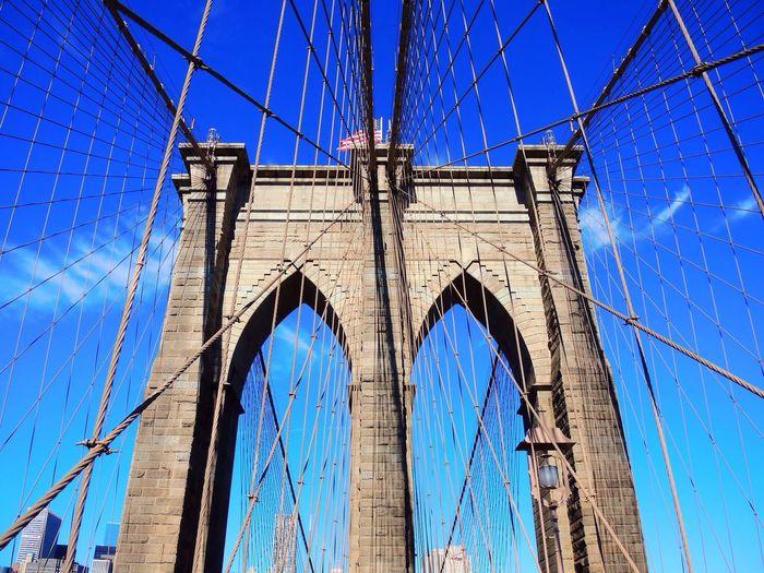 New York Broklyn Bridge