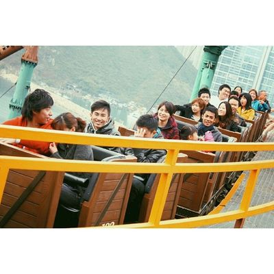 Because tomorrow is Valentine's Day, here's me riding a roller coaster alone, without a seatmate ? TBT