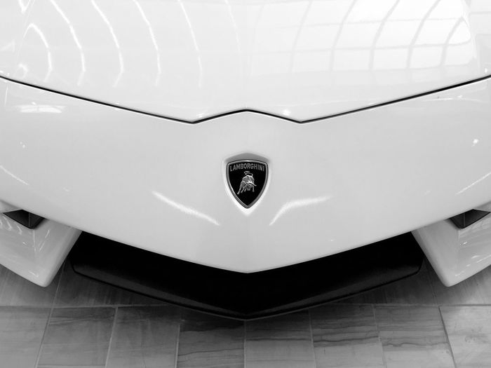 Lamborghini Car Bonnet Luxury Exclusive  Simple Lines Expensive