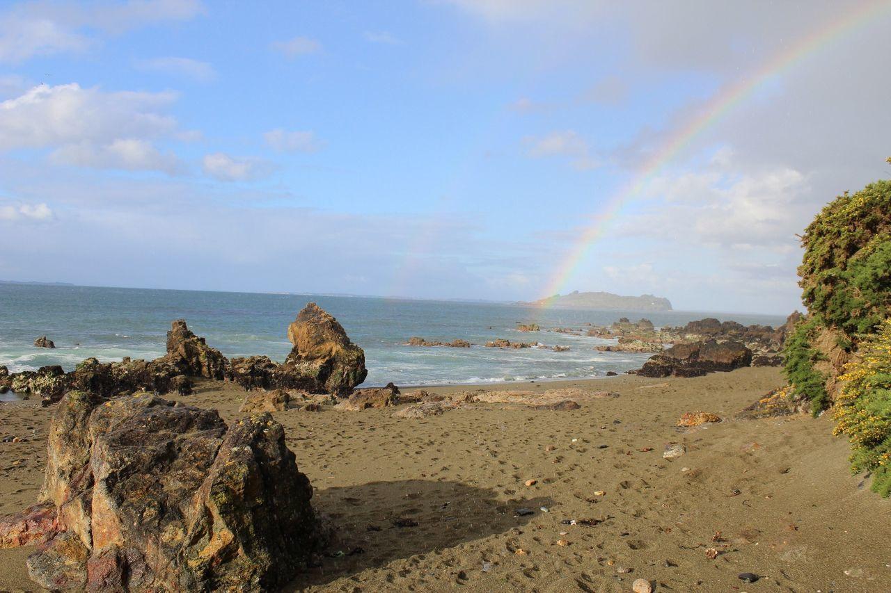 Sol y lluvia. Playa arena gruesa Ancud, Chiloé First Eyeem Photo