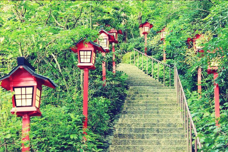 Asian Culture Inari Shrine The Way To Inari Shrine Japan