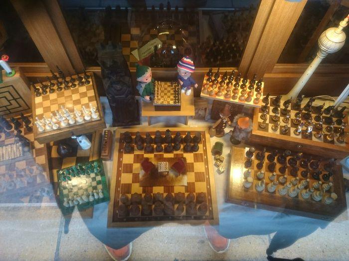 Chess Chesspieces Chessboard Chessgame Boardgames Shop Shop Window..... Chessception .....