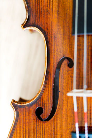 Violin body belly with F-hole full frame background selective crop Curve F Hole Tradition Arts Culture And Entertainment Belly Brown Classical Music Close-up Double Bass Focus On Foreground Handmade Music Musical Equipment Musical Instrument Musical Instrument String Ornate precision Single Object Still Life String String Instrument Studio Shot Violin Violin Belly Wood - Material