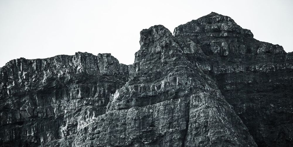 Rock formations in skye Rock Formation Scotland VisitScotland VSCO Vscocam Landscape Portfolio Goexplore Skye Hiking Outdoors Cliff Scenics Mountain Beauty In Nature Blackandwhite Black And White Photography