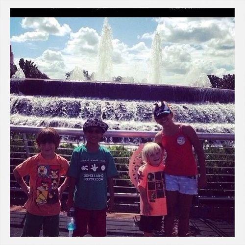 Where Do You Swarm? Disney with my family!!