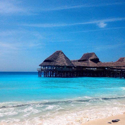 Mavi blue blues. Blue Sky Blue Zanzibar Zanzibar🏊🏄🎣 Zanzibar_Tanzania IPhoneography Taking Photos Ocean Ocean View