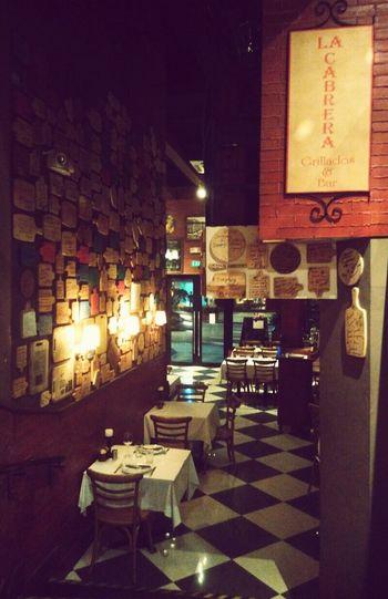 Happy 1st Anniversary La Cabrera! Picoftheday Dining Interior Interior Design Restaurant Restaurant Decor Winetime Weekendspecial