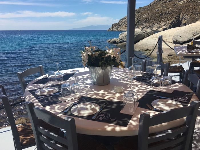 Ano Mera Mykonos Greece Restaurant Beautiful Nature Beautiful Day Romantic Dinner Cyclades_islands