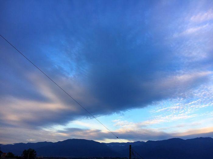 20171005 Good Morning イマソラ Sky 青空 Cloud - Sky 空