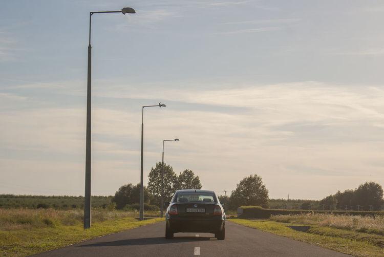Car Day Nature Outdoors Passat Road Sky Transportation Tree Volkswagen Volkswagen Passat