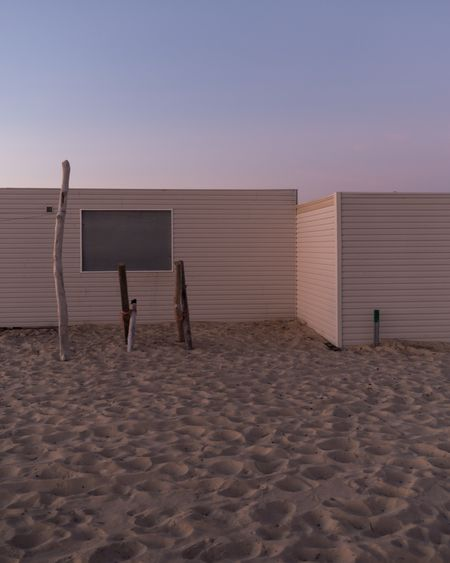 It's over Beach Empty Empty Places Sand Land Sky Beach Built Structure Nature Architecture Outdoors Sea