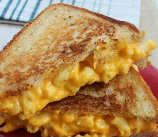 Mac&cheese Bread Sandwiches Toasted Sandwich Yummy