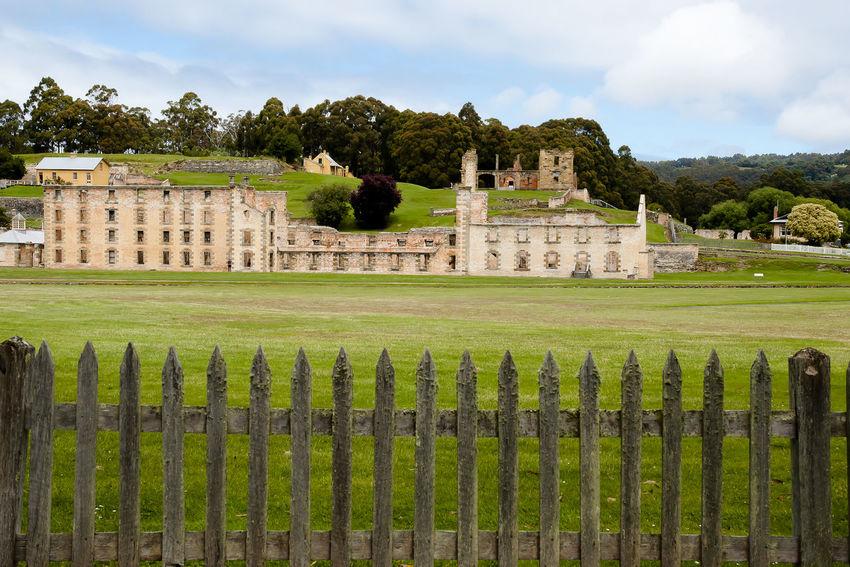 Port Arthur Convict Site - Tasmania Australia Jail Architecture Built Structure Convict Site Port Arthur Prison Tasmania Unesco