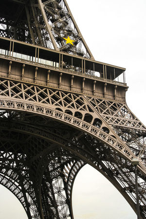 Etoille Man Made Object Paris Icon Hello World Eiffel Tower France Architecture Built Structure Close-up Engineering Metal Monochrome No People Tourism Travel Travel Destinations Yellow Star EyeEmNewHere