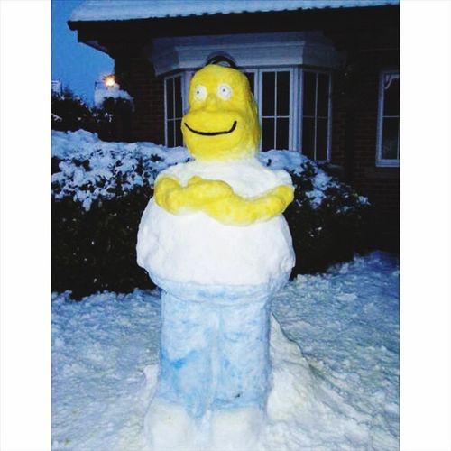 Biz YaparSaK BöyLe Yaparız Kardan ADamı ...' ???