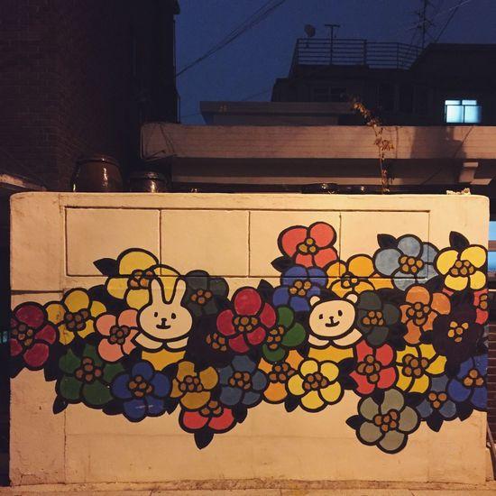 No People Outdoors Multi Colored Day EyeEmNewHere EyeEm Gallery Korea Nightshot Cute Socute Daily Seoul Painting